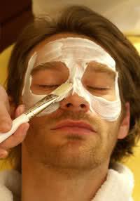 Мужская чистка лица