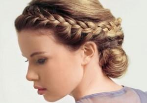 Свадебная- причёска