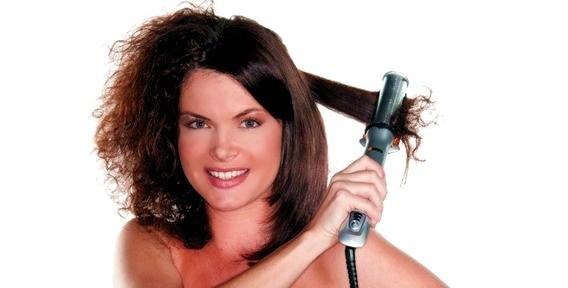 Выпрямить- волосы -утюжком -в- домашних- условиях
