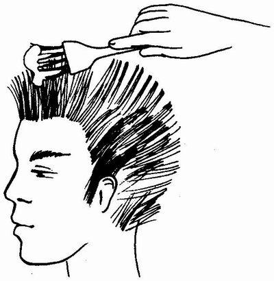 Окрашивание- волос- мужчинам