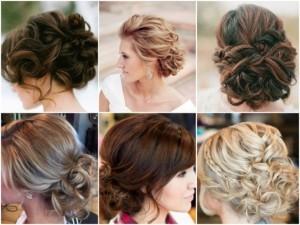 Свадебные- причёски